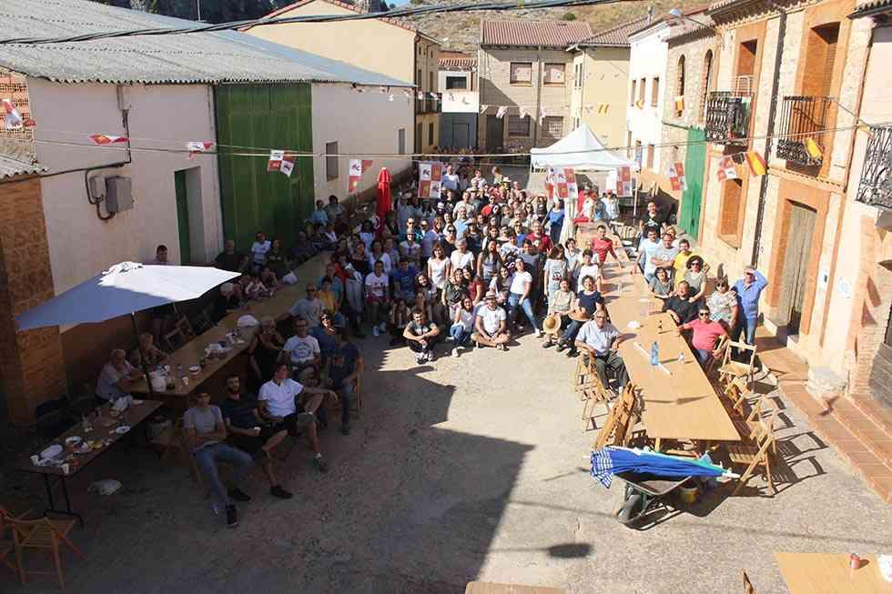 Doscientas personas se citan en Andaluz en fiestas de San Miguel