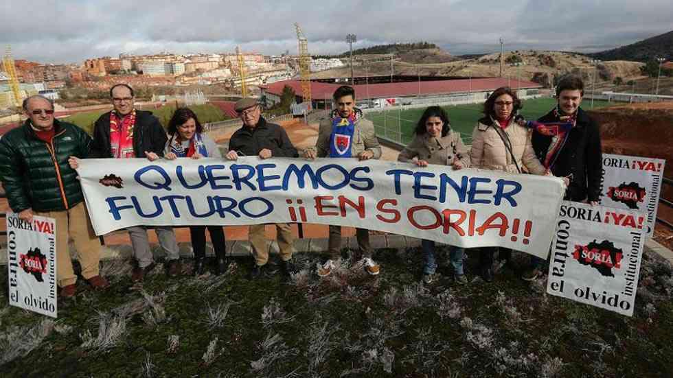 """Mesa redonda de la Soria ¡Ya"""" sobre despoblación"""