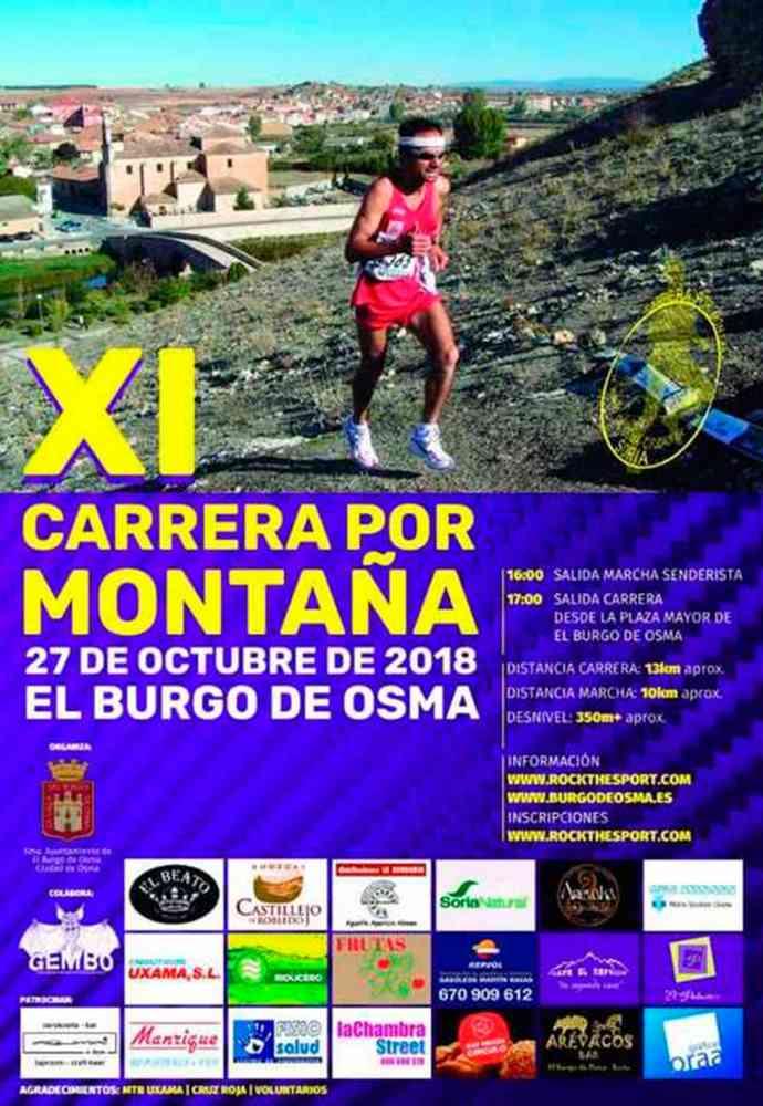 La carrera por montaña de El Burgo llega a su XI edición