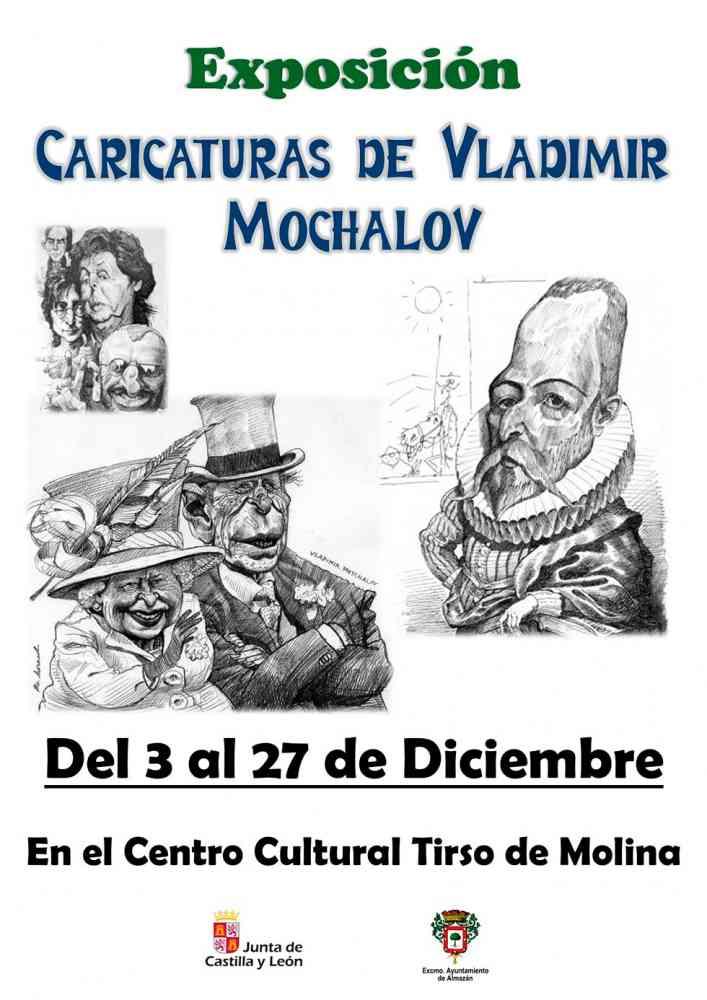 Las caricaturas de Vladimir Mochalov, en Almazán