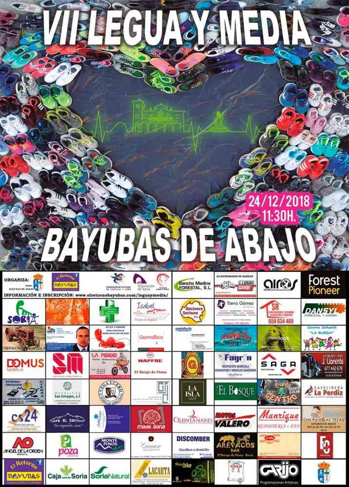 Bayubas de Abajo celebra en Nochebuena su VII Legua y Media