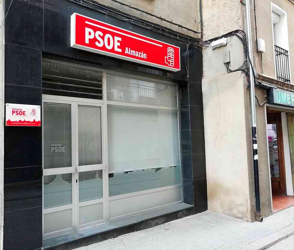 El PSOE de Almazán cambia de sede