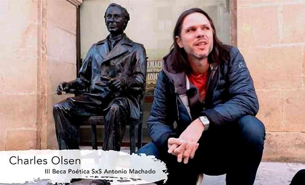 Crónica de la estancia del poeta neozelandés Charles Olsen en Soria