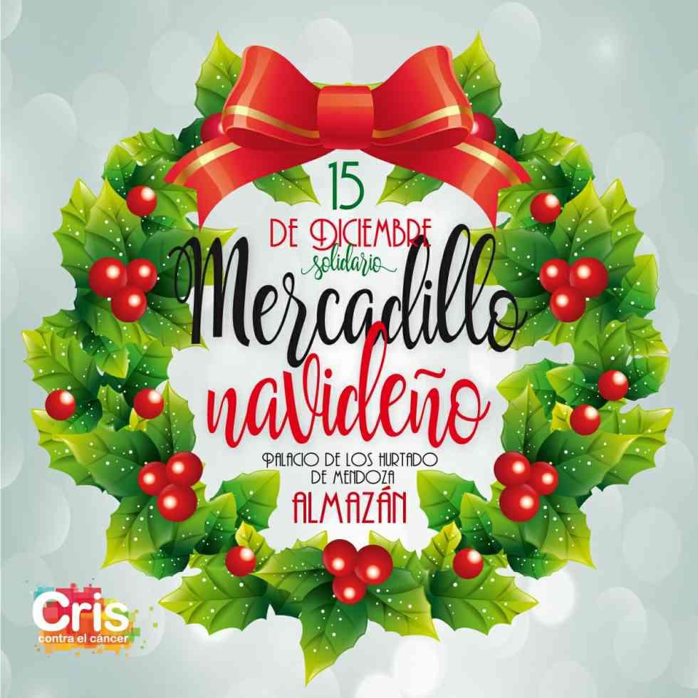 Mercadillo navideño en Almazán a favor de Cris Contra el Cáncer