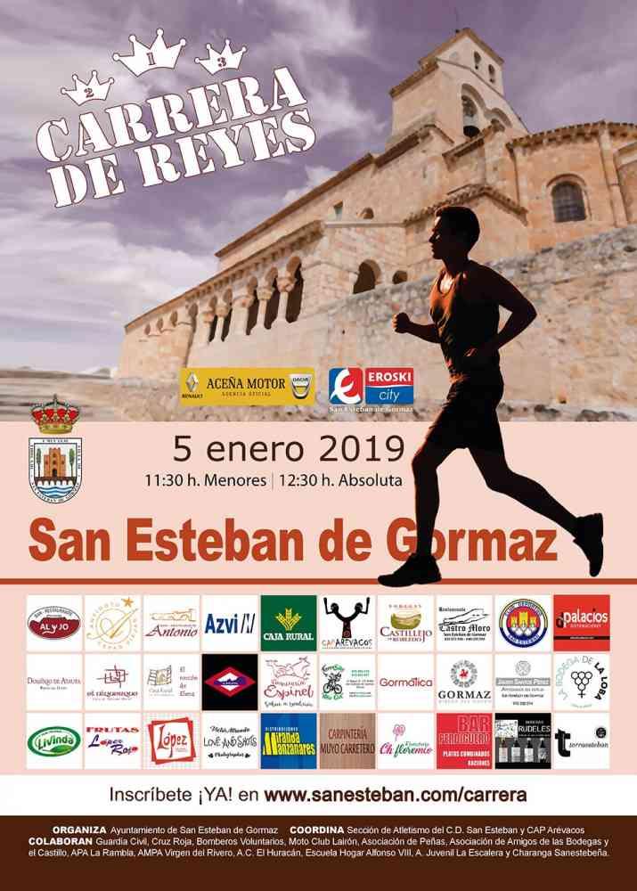 Inscripciones abiertas para la Carrera de Reyes en San Esteban de Gormaz