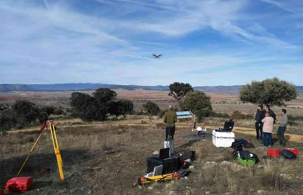 Drones para reconstruir los campamentos romanos de Renieblas