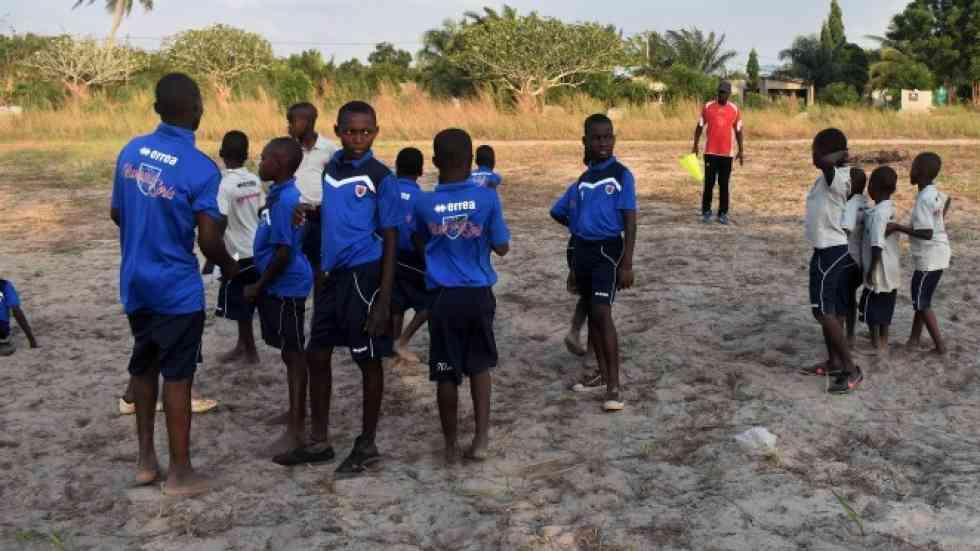 La solidaridad del Numancia llega a África