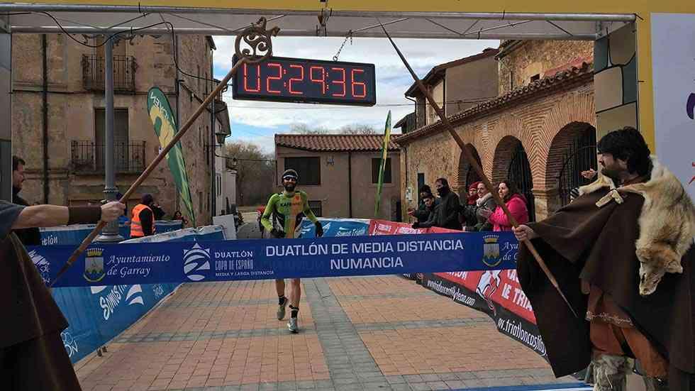 Garray acoge el Campeonato de España de Duatlón Media Distancia