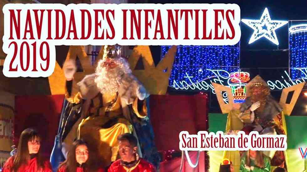 Video resumen de actos infantiles en Navidad en San Esteban