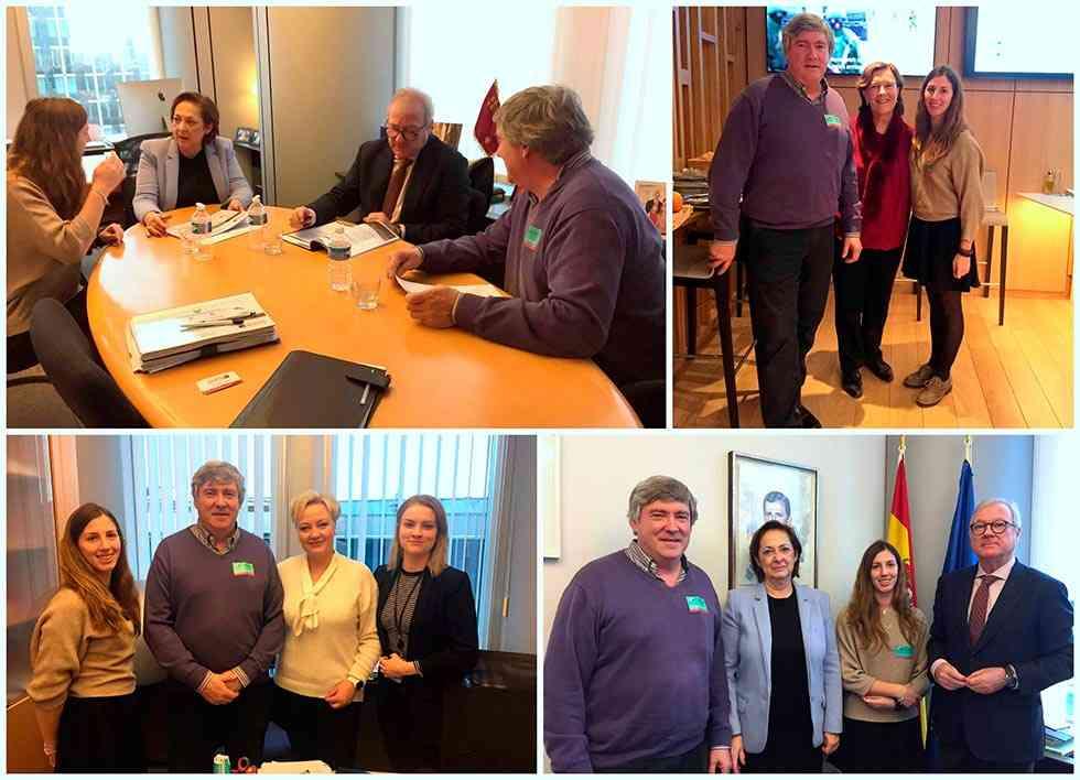 La Red SSPA se reúne con el vicepresidente del Parlamento europeo