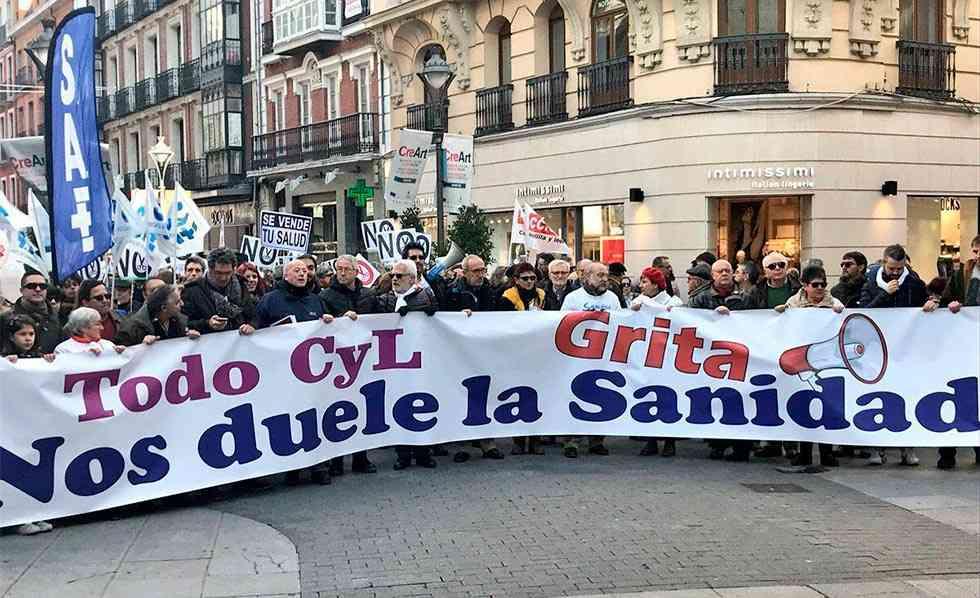 """CC.OO. se suma a la manifestación """"Nos sigue doliendo la Sanidad"""""""