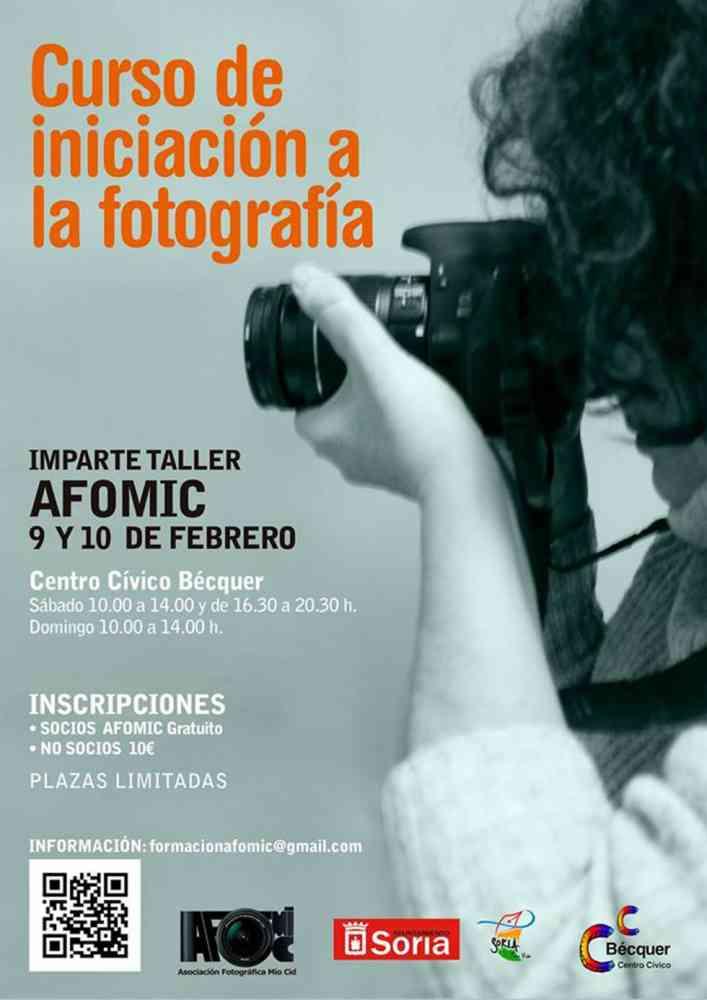AFOMIC organiza un curso de iniciación a la fotografía