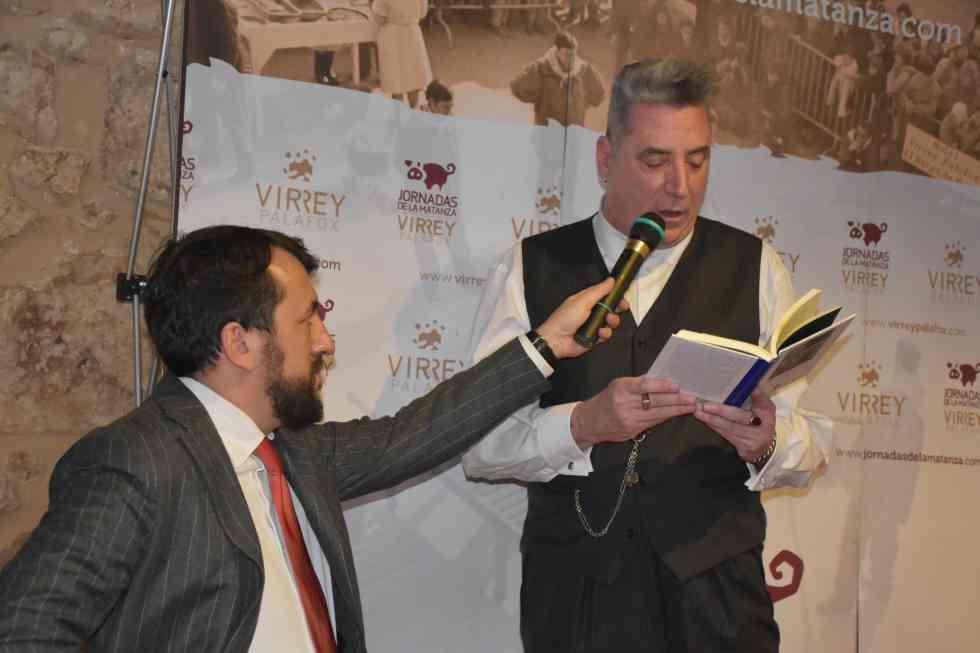 """""""Loquillo"""" pregona la 45 edición de las matanzas del Virrey"""