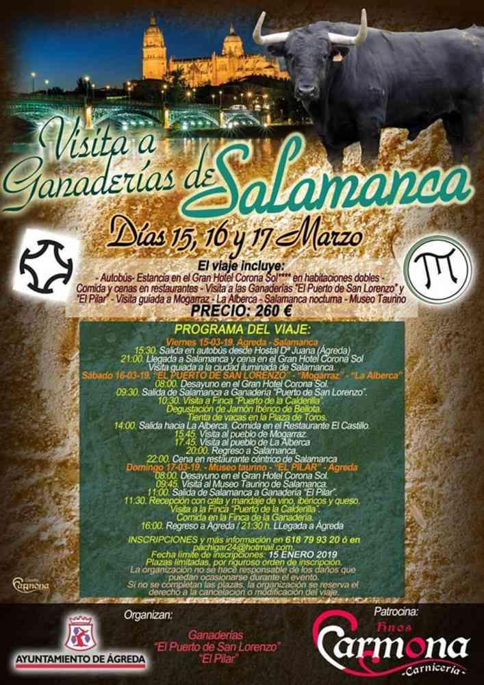 Ágreda organiza excursión a ganaderías de Salamanca