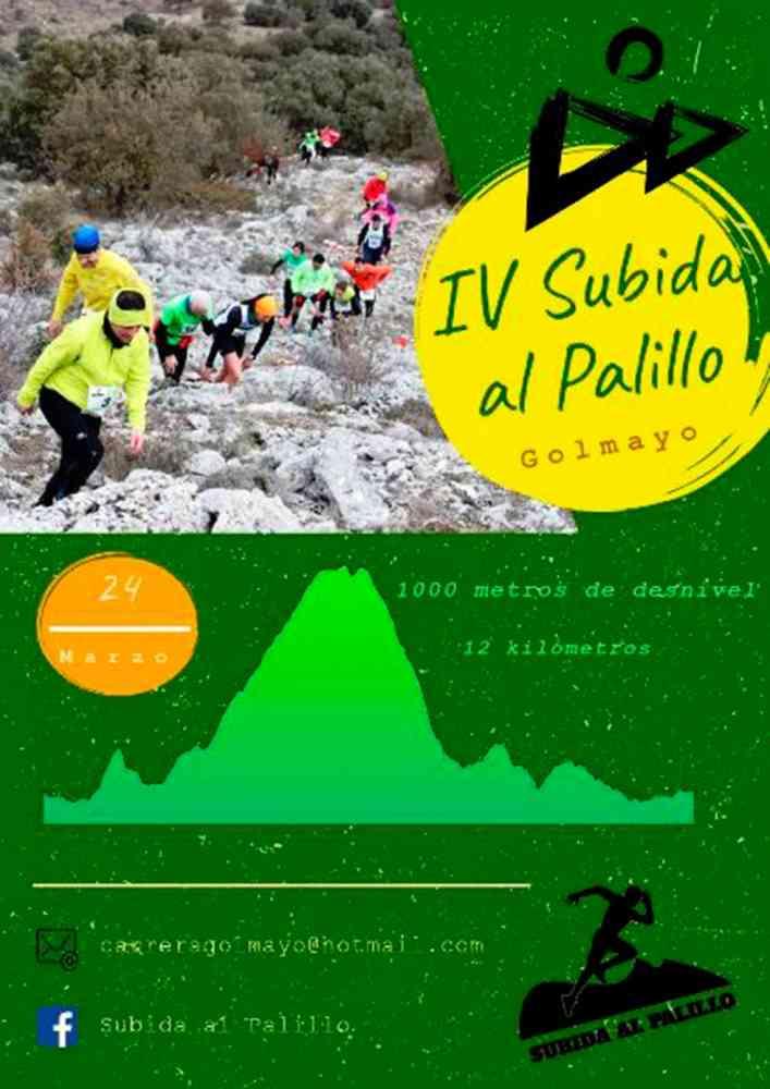 """La IV """"Subida al Palillo"""" será el 24 de marzo"""