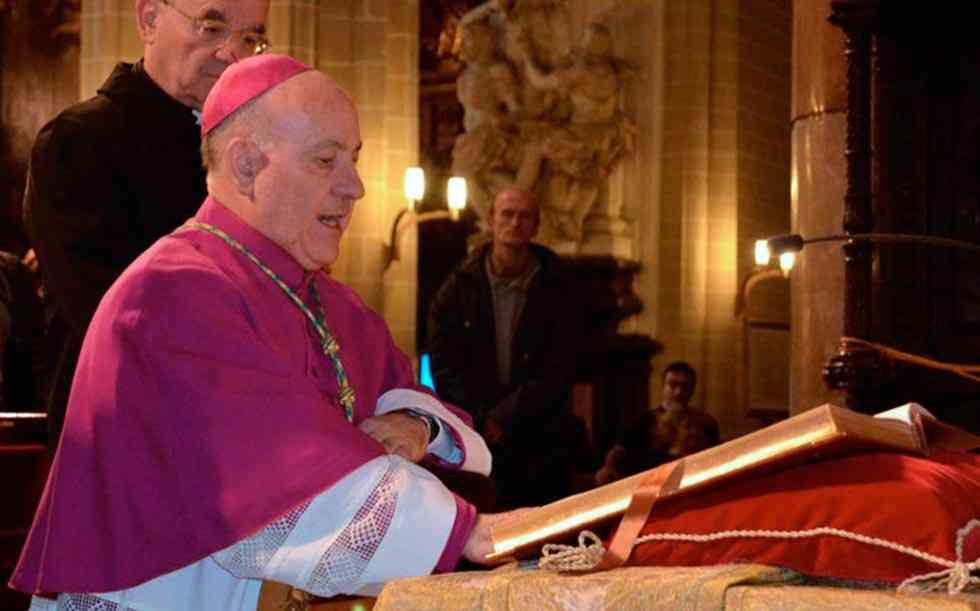 Mons. Jiménez Zamora renuncia al Arzobispado de Zaragoza