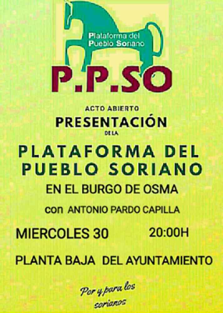 Pardo presenta el proyecto político de la PPso