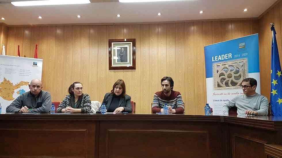 Tierras Sorianas del Cid firma más contratos de ayuda Leader