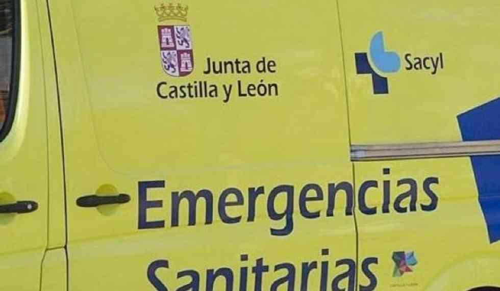 Dos heridos en accidente de camión en Almenar de Soria