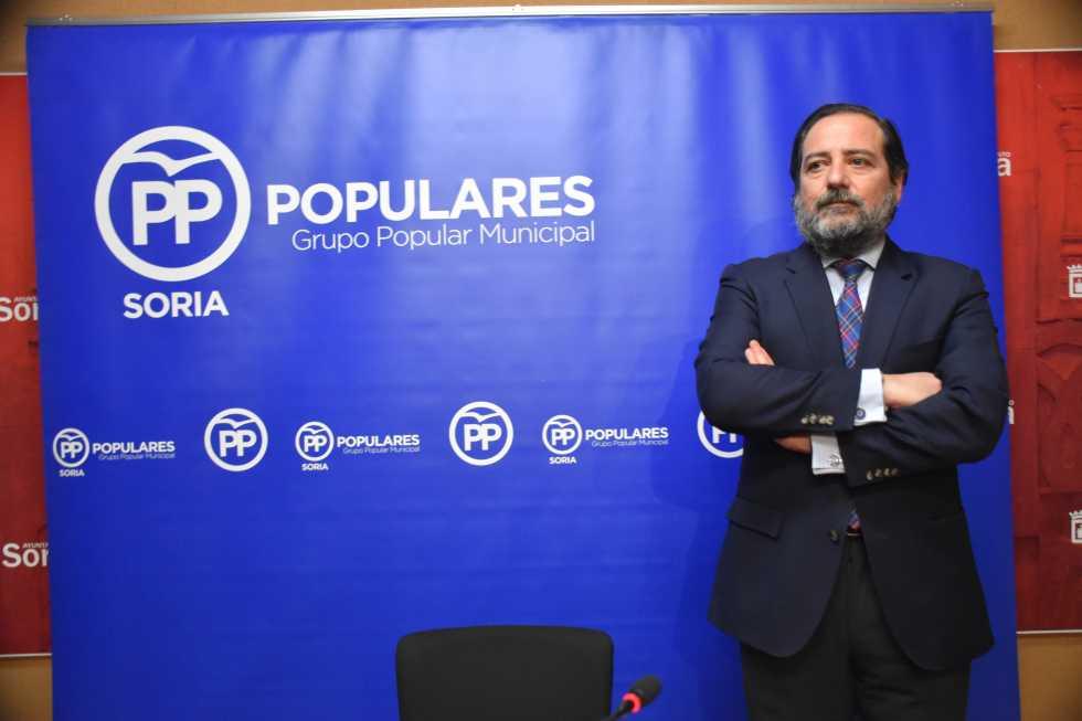 Hernando denuncia la parálisis permanente del Ayuntamiento