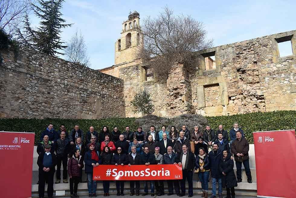 El PSOE se presenta como el partido capaz de transformar Soria