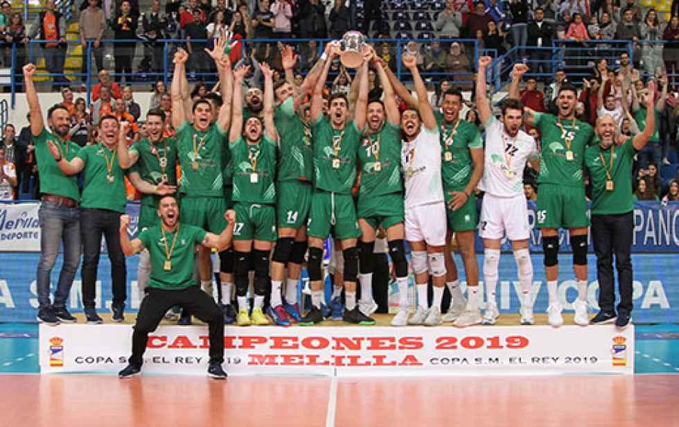 Unicaja Almería conquista su undécima Copa del Rey