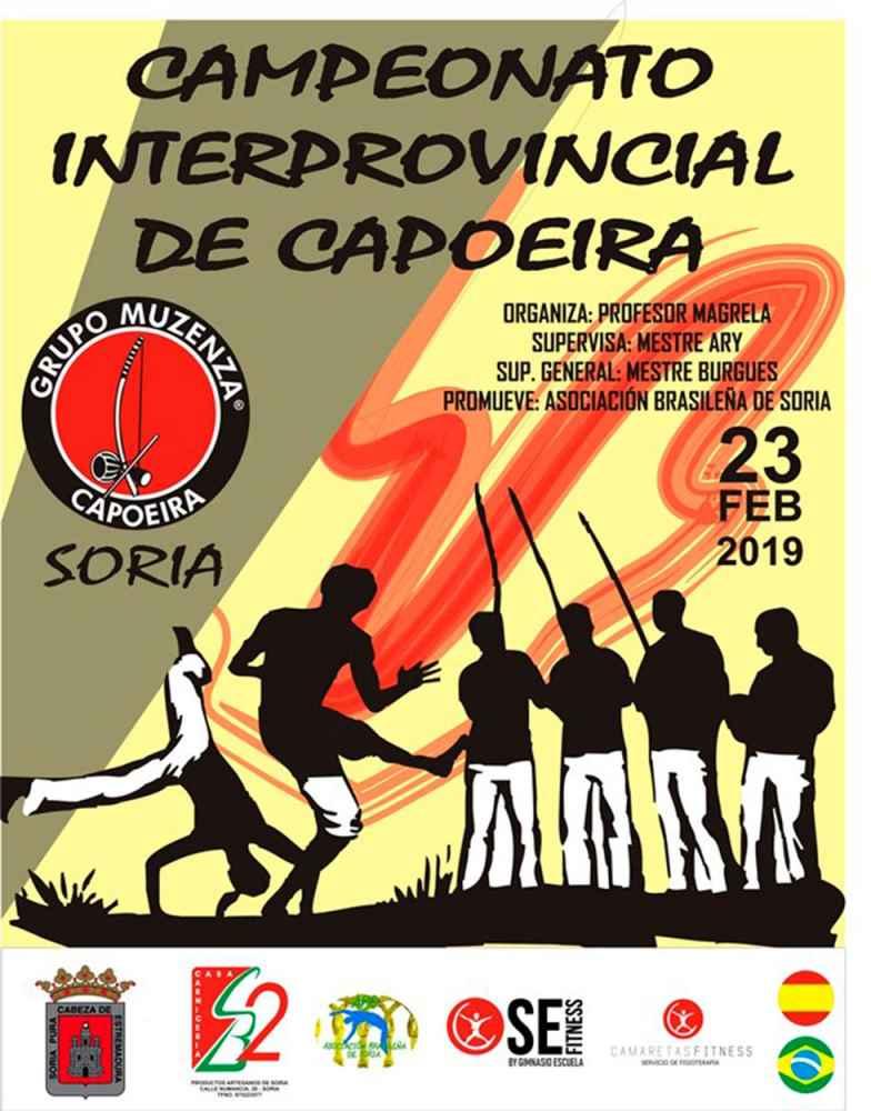 Soria acoge el II Campeonato Interprovincial de Capoeira