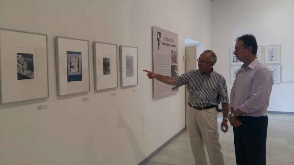 El Burgo mejora iluminación para exposiciones en San Agustín