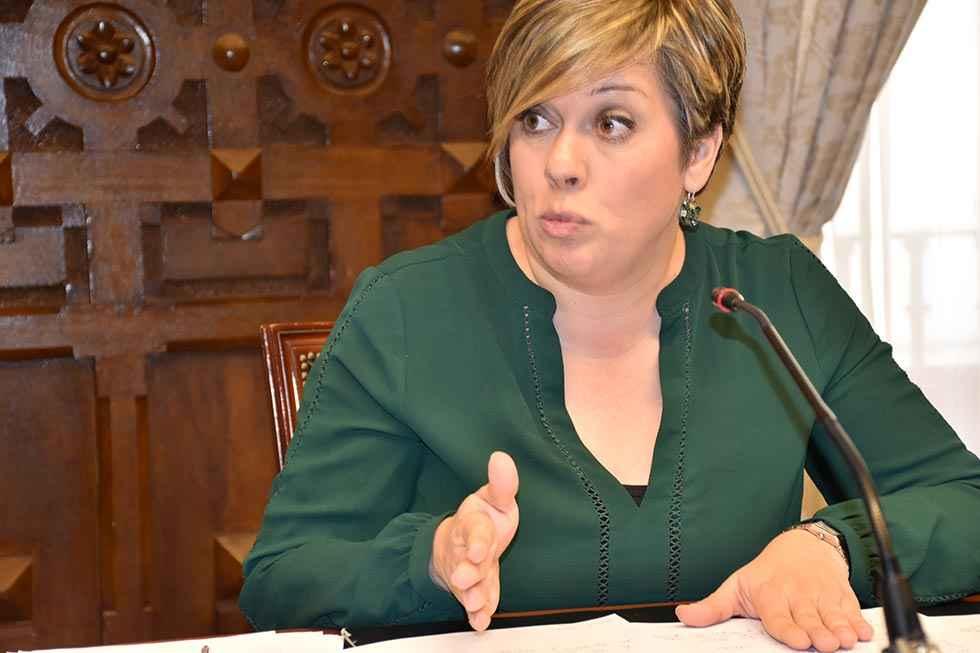 Judiht Villar, candidata del PSOE a alcaldía de Ólvega