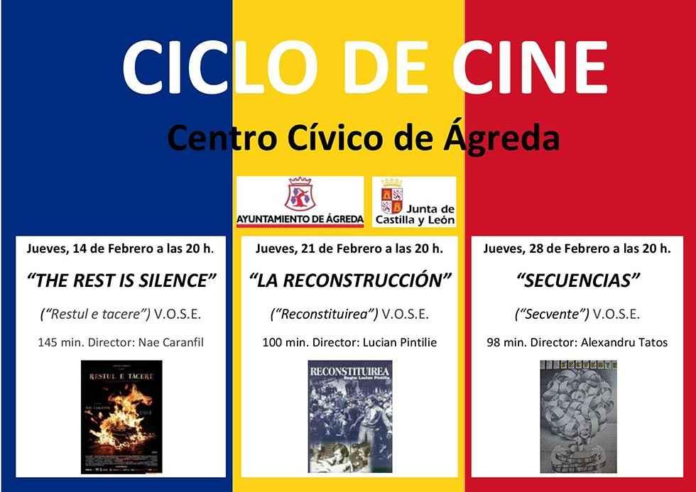 Ciclo de cine rumano en Ágreda