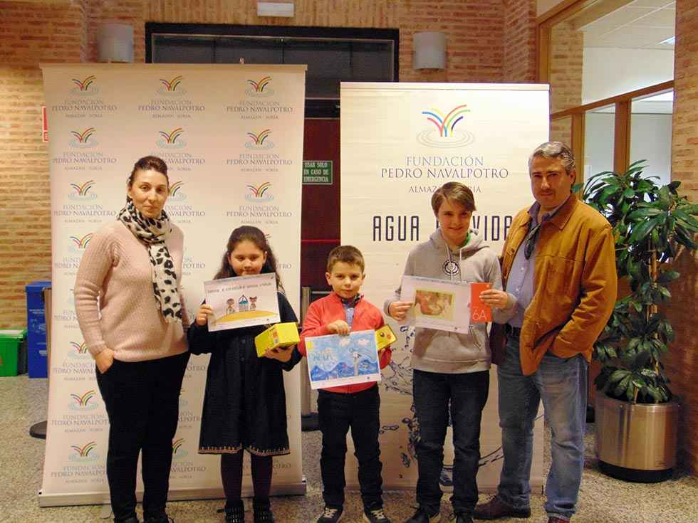 """Entrega de los premios del concurso infantil """"Dibujos del Agua"""""""