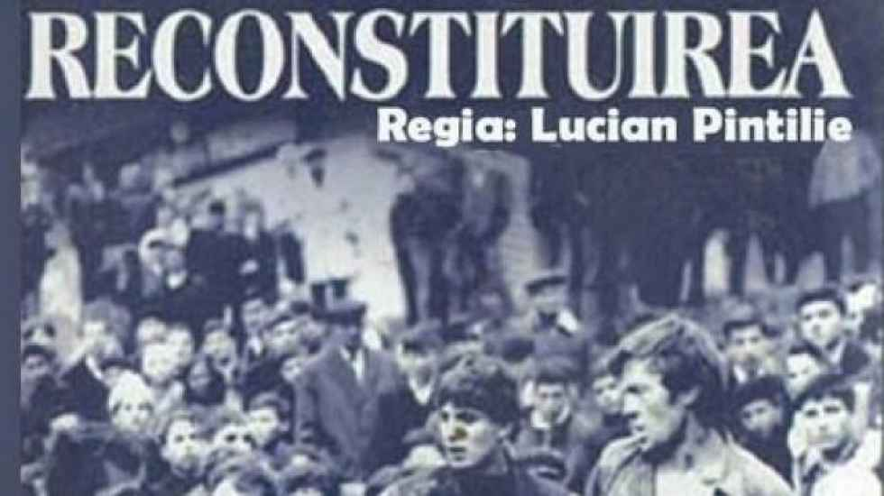 """""""La reconstrucción"""", dentro del ciclo de cine rumano en Ágreda"""