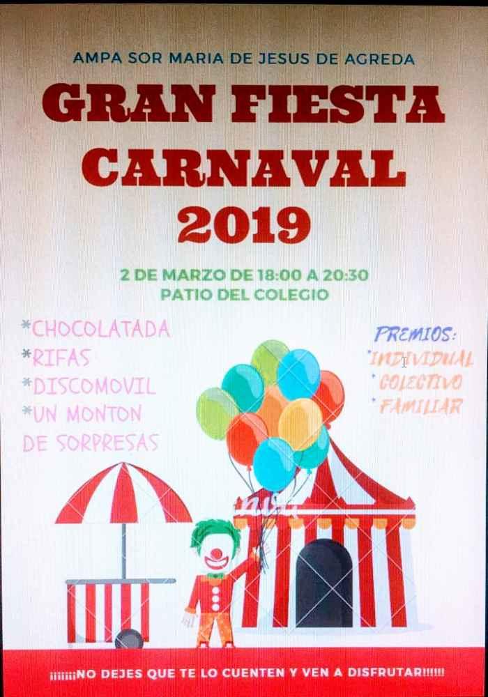 Programa de los carnavales en Ágreda