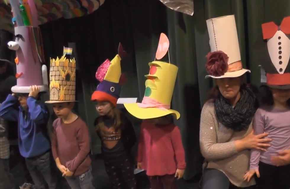 Matalasviejas, gorros locos y caras pintadas inician el carnaval de Ólvega
