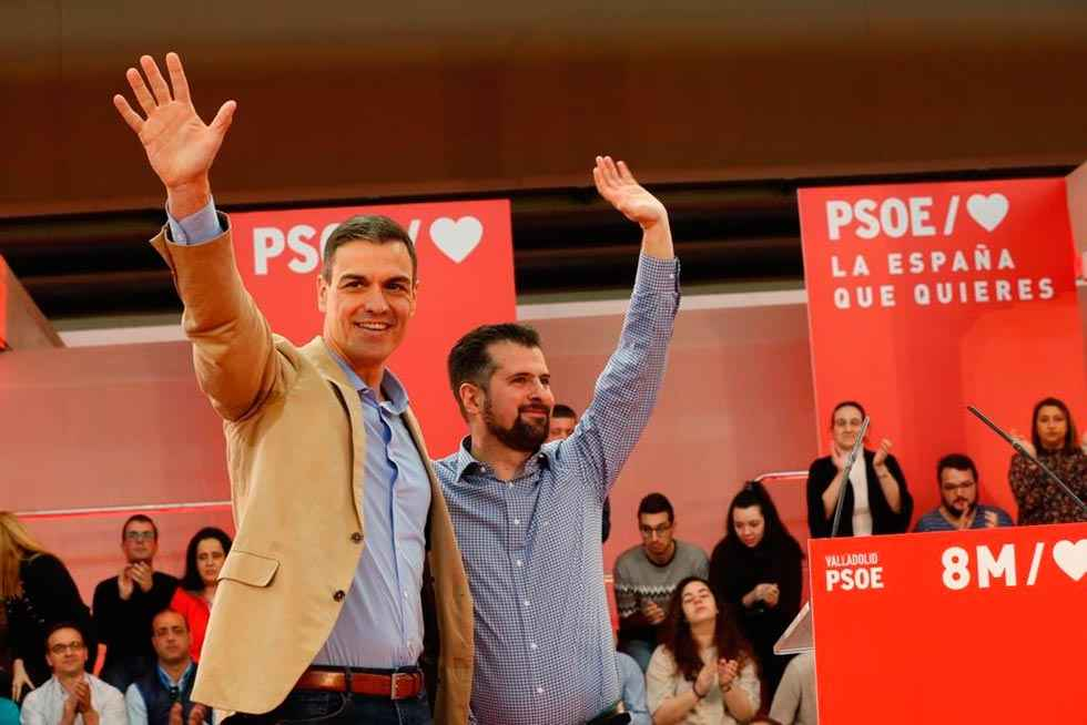 """Tudanca: """"Dentro de muy poco Castilla y León volverá a ser socialista"""""""