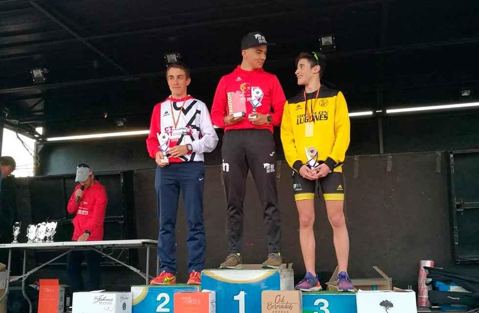 Madrazo y Andrés ganan el Duatlón Cross de Fuentemolinos