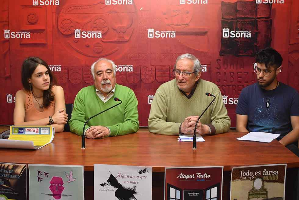 """""""Yonquis y yanquis"""" abre IV Muestra de Teatro Universitario"""