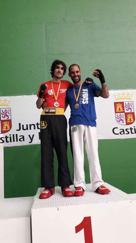 Buenos resultados del club Kickboxing Soria en Salamanca