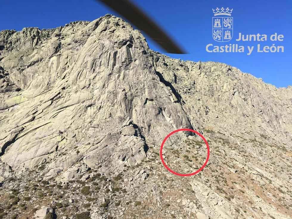 Rescatada una senderista herida en la sierra de Gredos