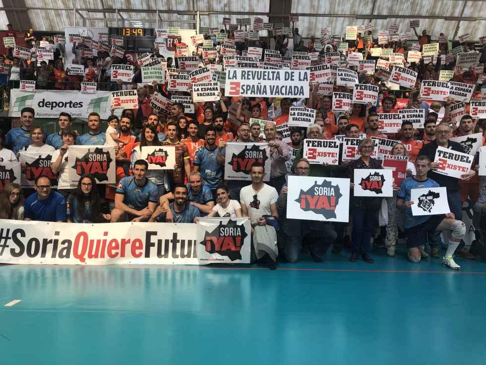 C.V. Teruel y Río Duero Soria, de la mano contra la despoblación