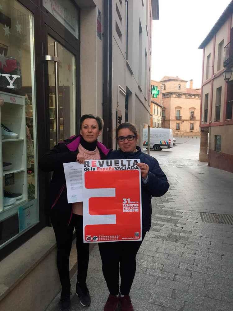 Las AMPAS de dos colegios de Almazán secundan manifestación en Madrid