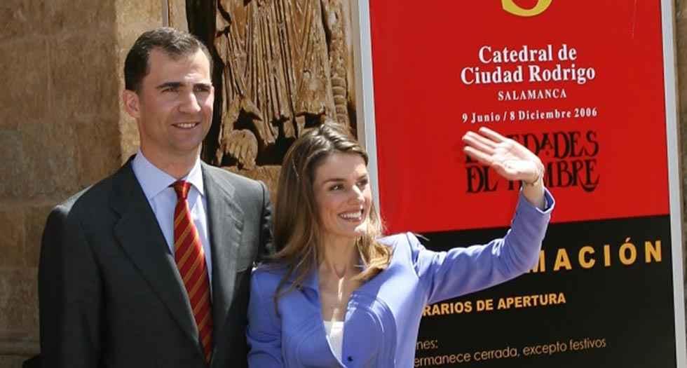 "La reina doña Letizia inaugura ""Angeli"" en Lerma"