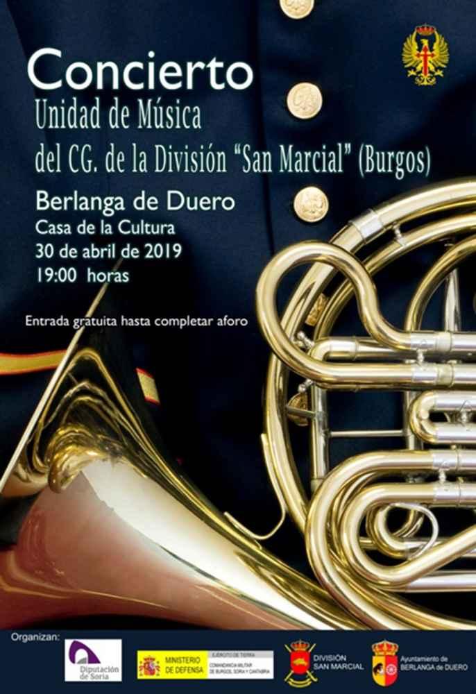 """Concierto de la unidad de música de la División """"San Marcial"""""""