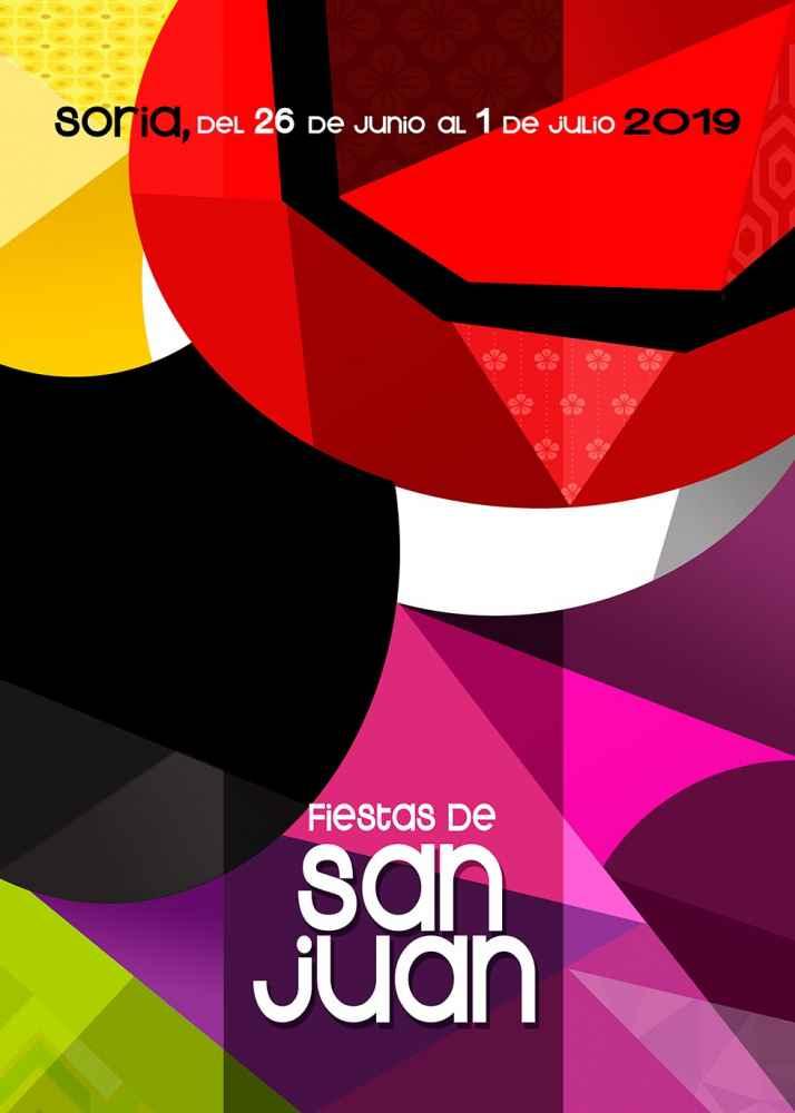 """""""Retazos de color"""", cartel de las fiestas de San Juan 2019"""