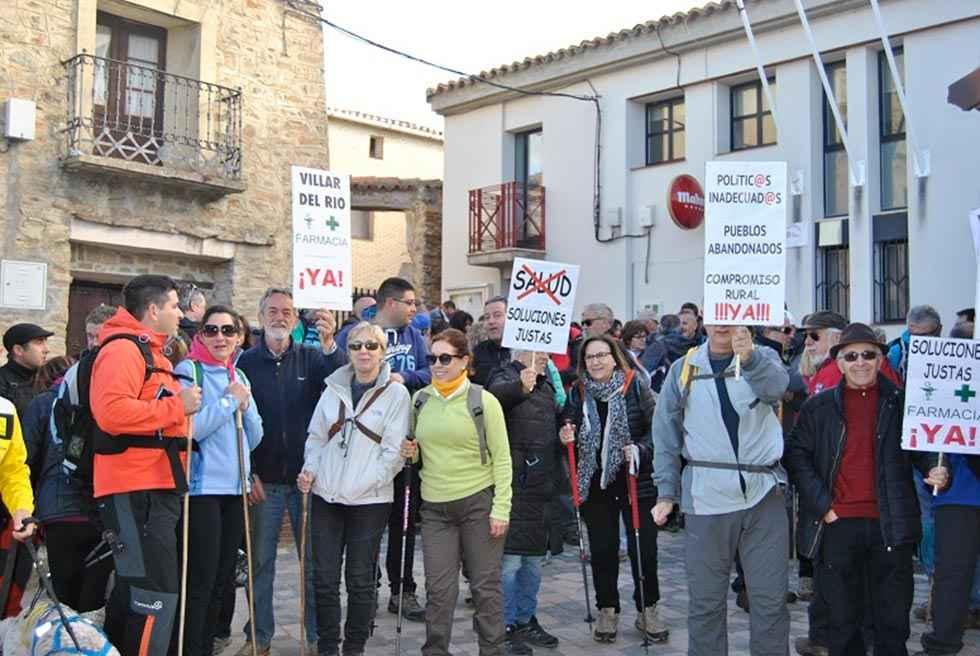 Buena participación en la XII Marcha Senderista de Villar del Río