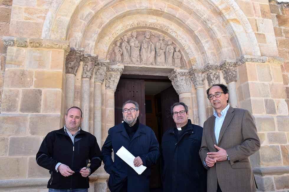 La Junta avanza en restauración de iglesia de San Juan de Rabanera