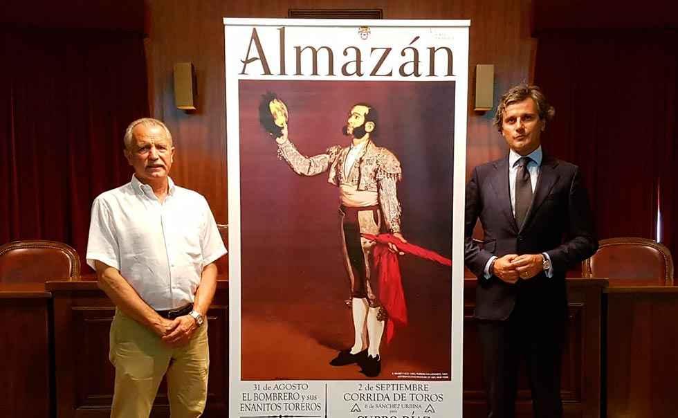 Castella, Ureña y De Miranda, cartel taurino para Almazán