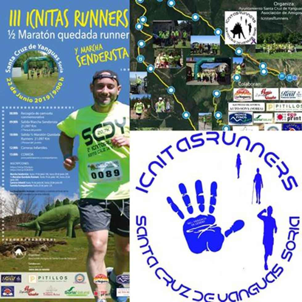 Inscripciones para la III Media Maratón Quedada Icnitas Runners