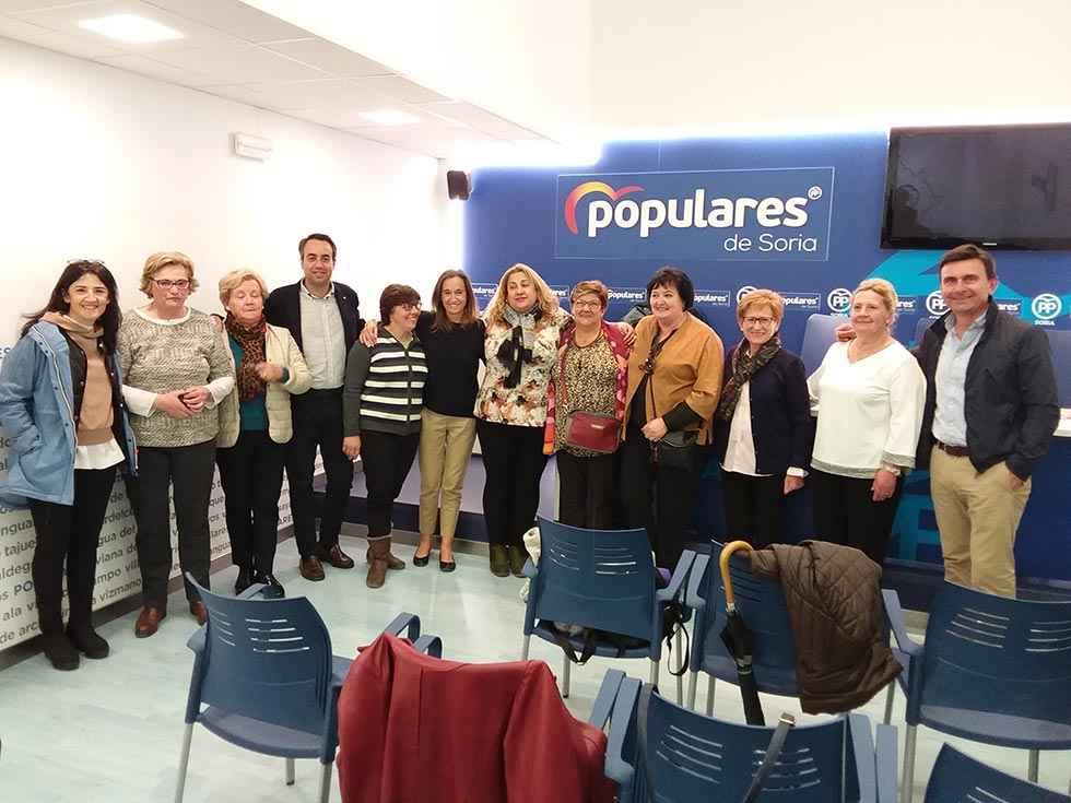 El PP se reúne con responsables de AMFAR Soria