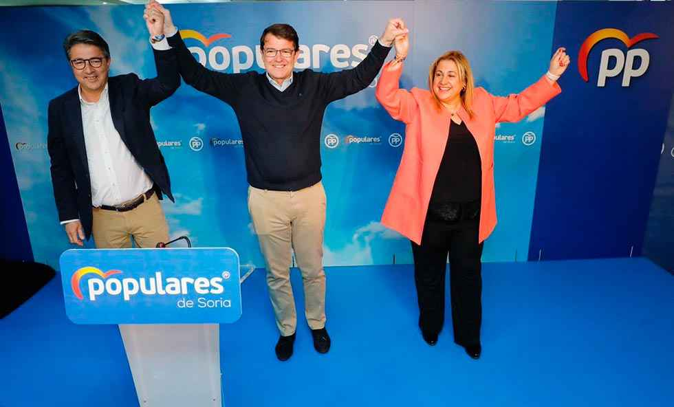 Mañueco se compromete a alzar la voz para reivindicar Soria